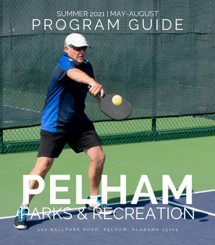 Older man playing pickleball